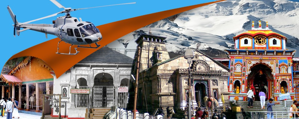 CHARDHAM YATRA IN 4 NIGHTS  5 DAYS BY HELICOPTER 2019