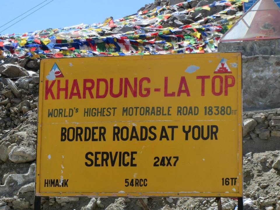 Tour Khardong Ladakh